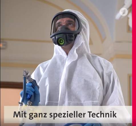Counterfog® on German television